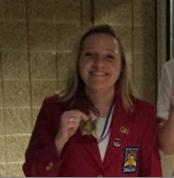Brittany Borowski pictured in skills uniforme.
