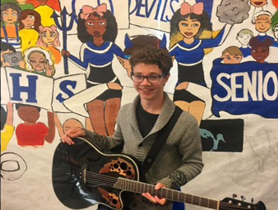 The Voice's Braiden Sunshine Performs at Leominster High