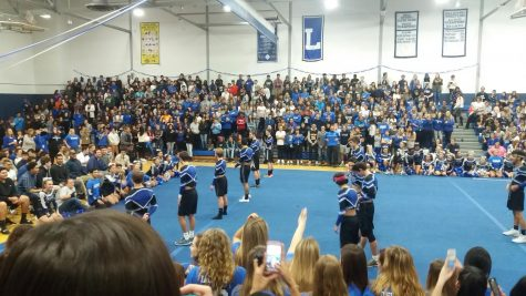 PEP RALLY EXCITES LHS