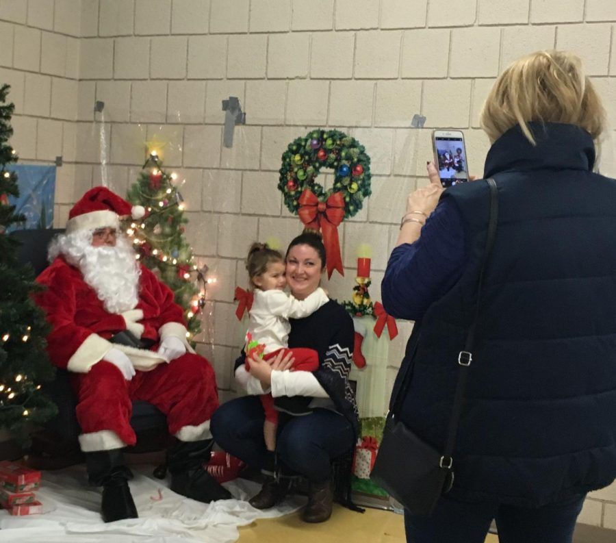 Santa Comes to Leominster High