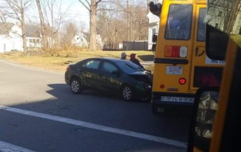 Bus Car Collide on Union Street