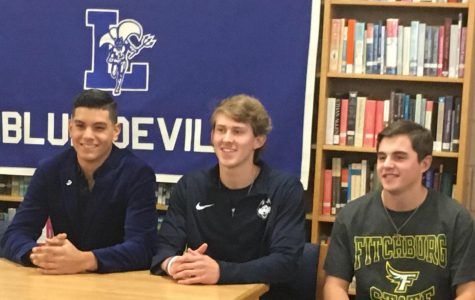LHS Baseball Athletes Swing for the Fence on Signing Day
