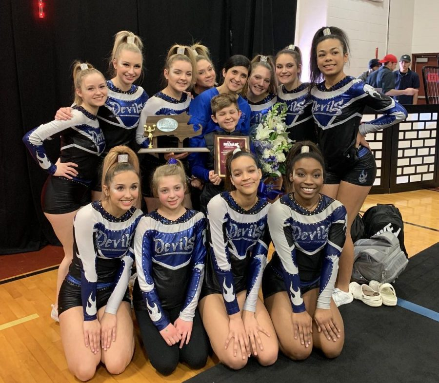 The LHS 2018 2019 Cheer Squad